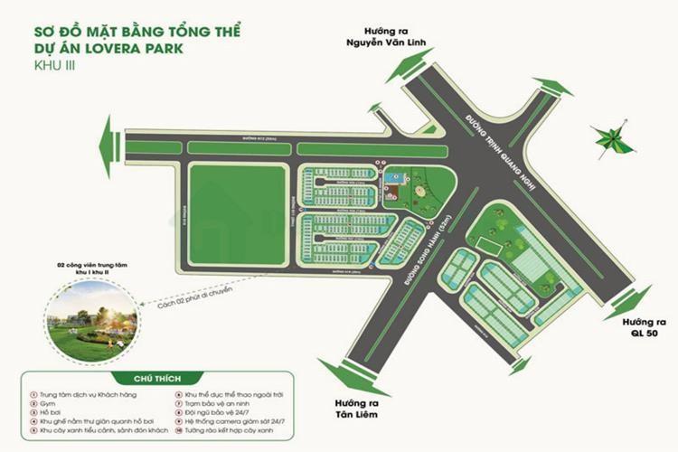 Dự án nhà phố Lovera Premier Bình Chánh