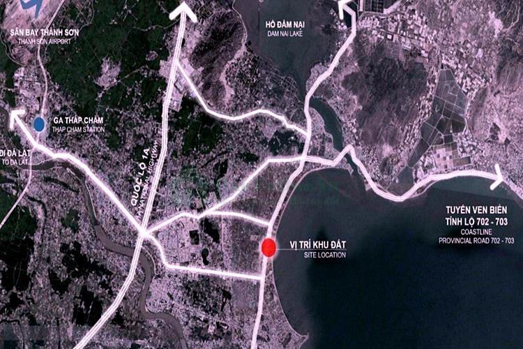 Vị trí dự ánSunBay Park Hotel & Resort Ninh Thuận