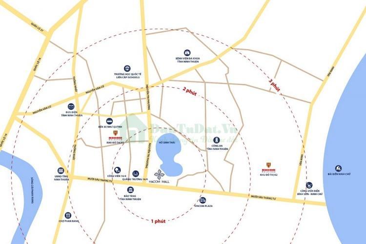 Vị trí dự ánHacom Mall Ninh Thuận