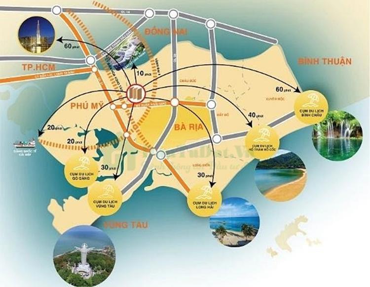 Tiện ích dự án đất nền Phú Mỹ Future City