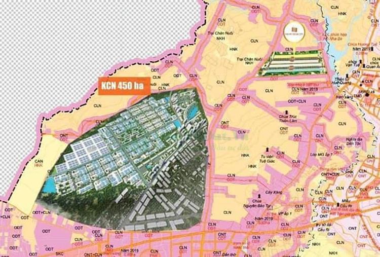 Vị trí dự ánPhú Mỹ Future City