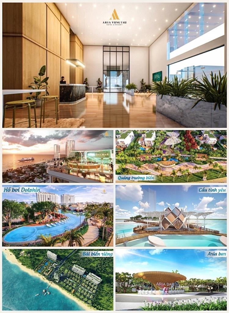Tiện ích dự án căn hộ Aria Vũng Tàu