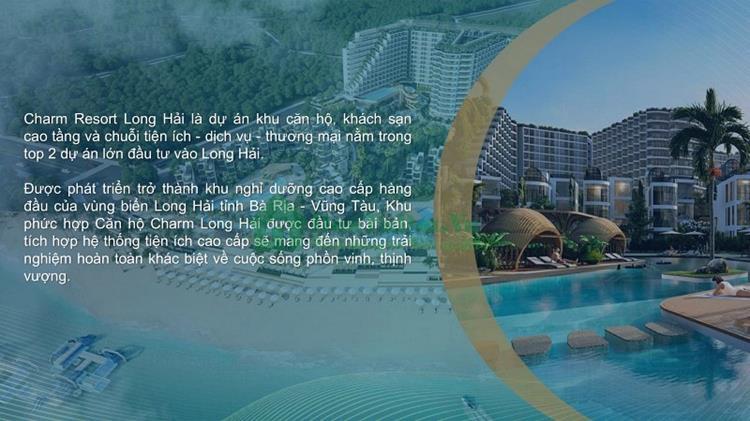 Mặt bằng Charm Resort Long Hải