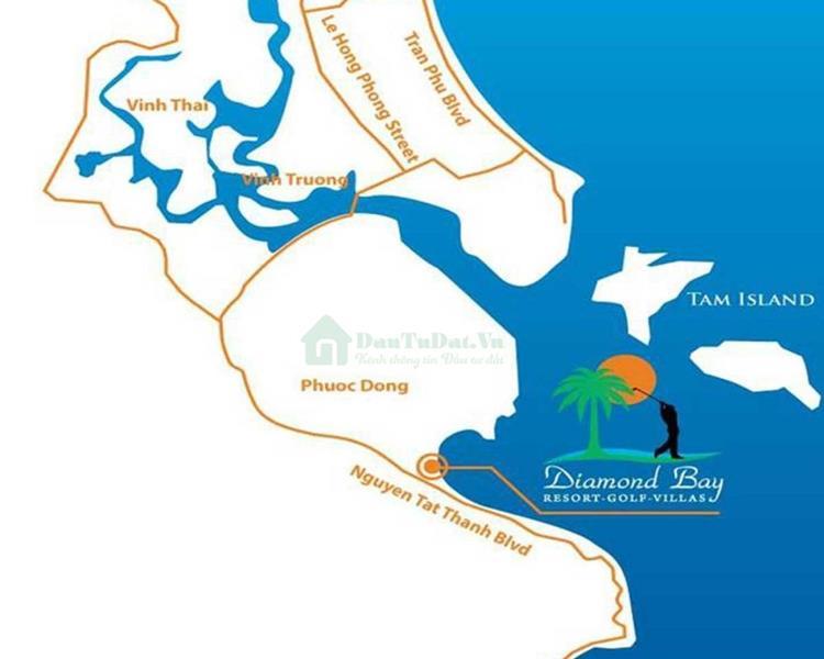 Vị Trí Khu phức hợp Sunshine Diamond Bay
