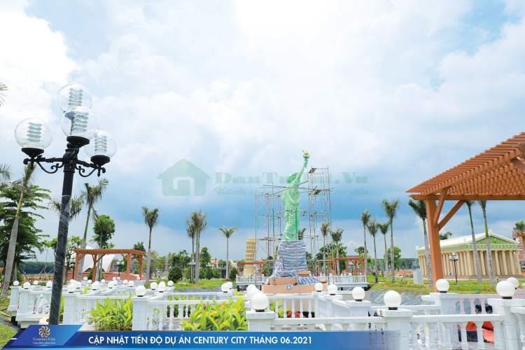 hình ảnh thực tế công viên century city