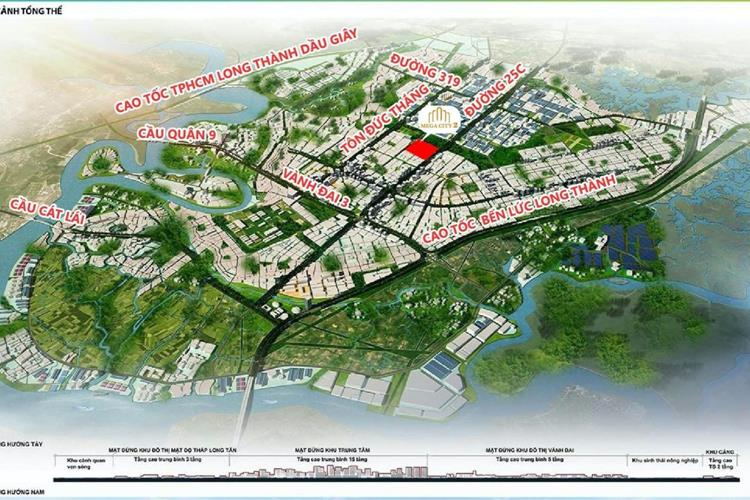 Vị trí vàng Dự Án Mega City 2 Phú Hội