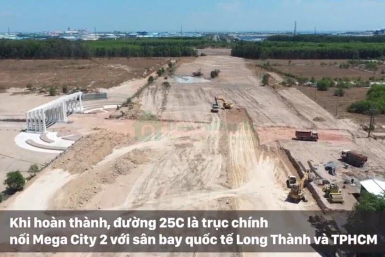 Mặt bằng quy hoạch tổng thể Dự Án Mega City 2
