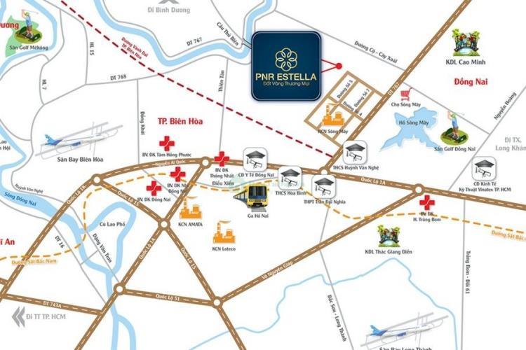 Vị trí Khu đô thị PNR Estella