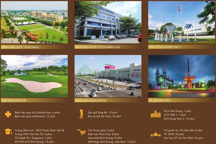 Tiện ích nội khu của Dự án Legacy Central Thuận An