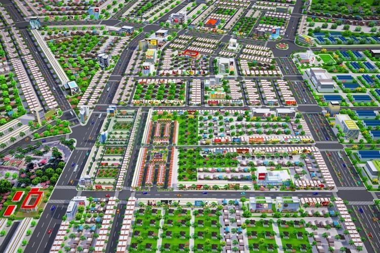 Mặt bằng tổng thể Dự án Golden Future City