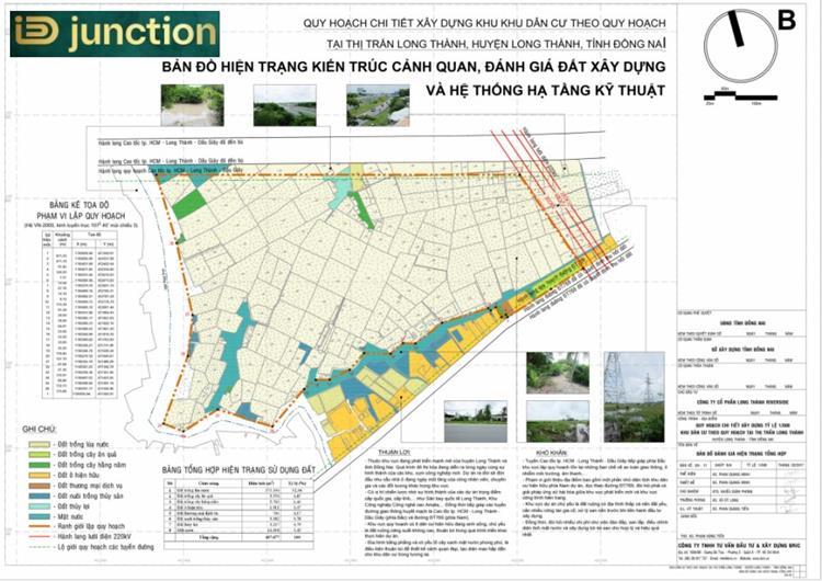 Mặt bằng quy hoạch chi tiết dự án ID Junction Long Thành