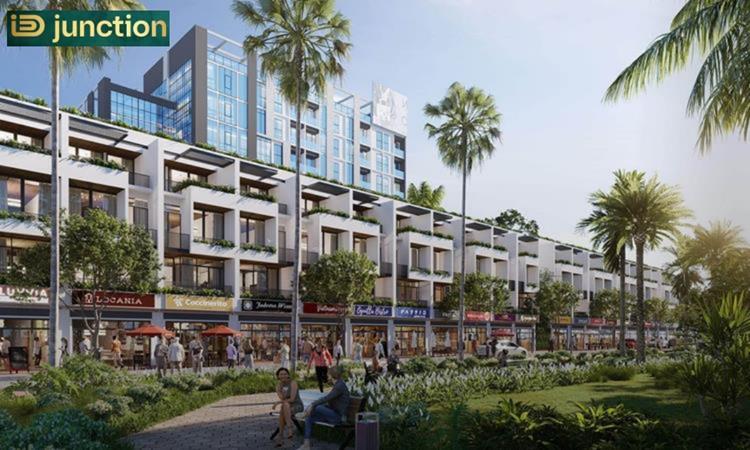 Thiết kế dãy nhà phố dự án ID Junction Long Thành