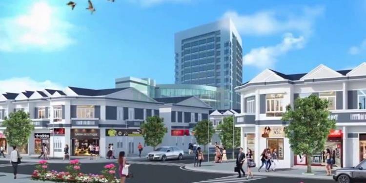 Mặt bằng quy hoạch Dự án Golden Center City