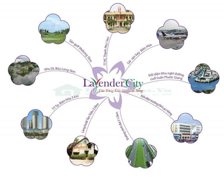 Tiện ích tạidự án Lavender City Vĩnh Cửu