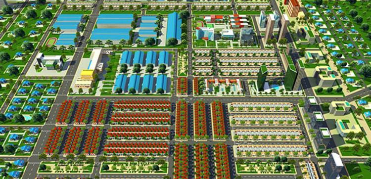 Mặt bằng tổng quan dự án The Mall City