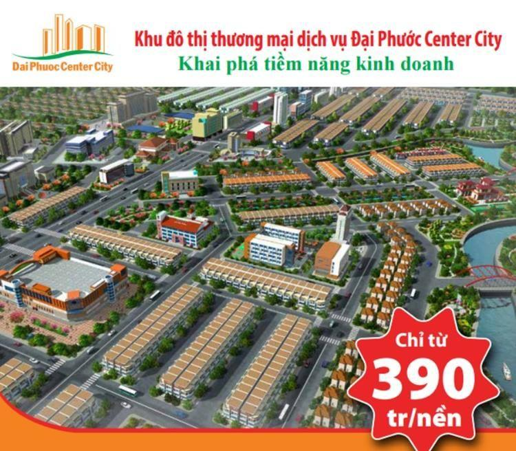 Mặt bằng Dự án Đại Phước Center City
