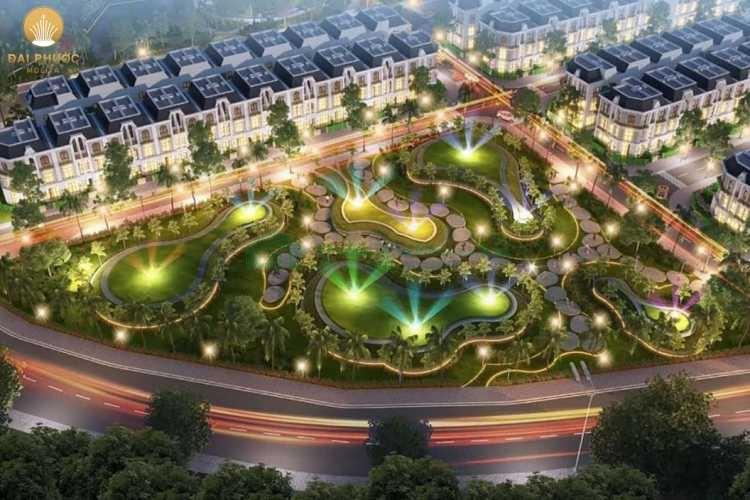 Tiện ích dự án Khu đô thị Đại Phước Molita Bàu Bàng