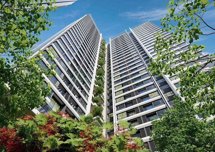 dự án căn hộ Đất Xanh Homes City View