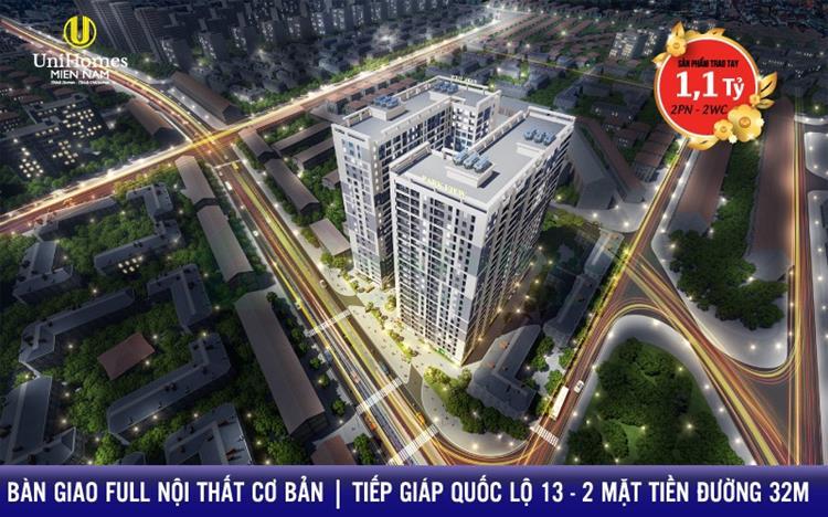 Dự án Căn Hộ Park View Iris Tower Thuận An