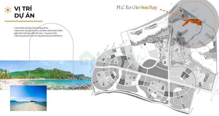 Vị trí nói lên tiềm năng của FLC Eo Gió Sun Bay