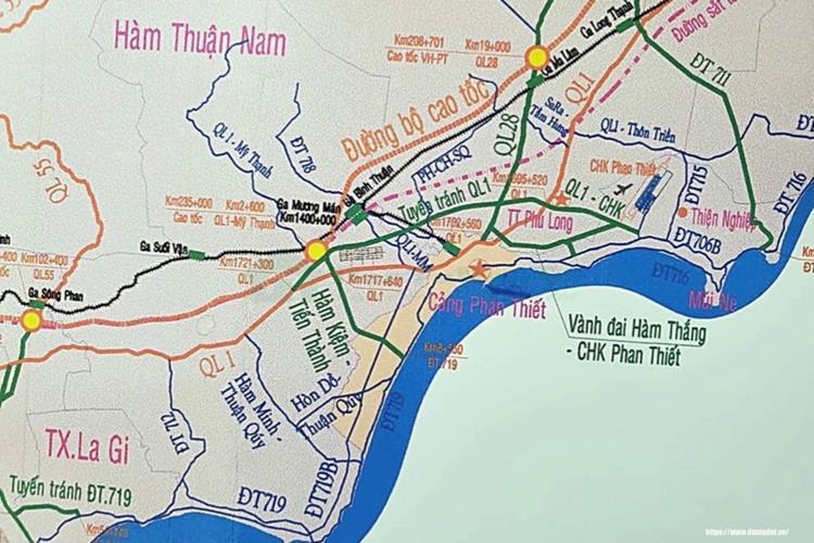 Vị trí Queen Pearl Marina Complex Phan Thiết