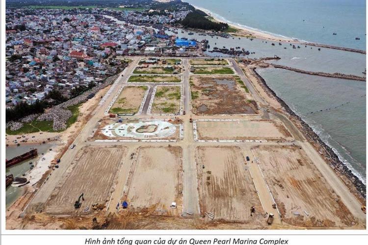 Mặt bằng Dự án Queen Pearl Marina Complex